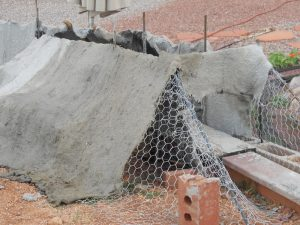 rebar-chickenwire-burlap-mountain